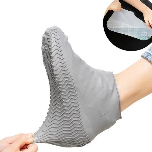 Cubre Zapato Tenis Protector Para Lluvia Impermeable Silicon