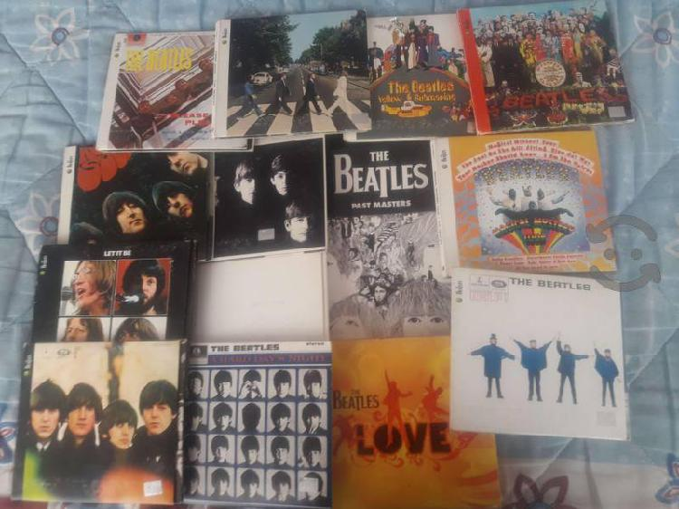 Discos remasterizados de los Beatles