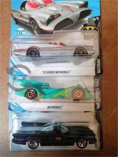 En venta 3 Carritos Hot Wheels de Batman