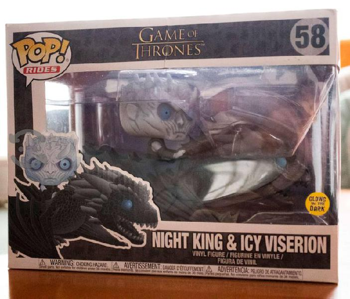 Funko Night King & Icy Viserion Glow in The Dark