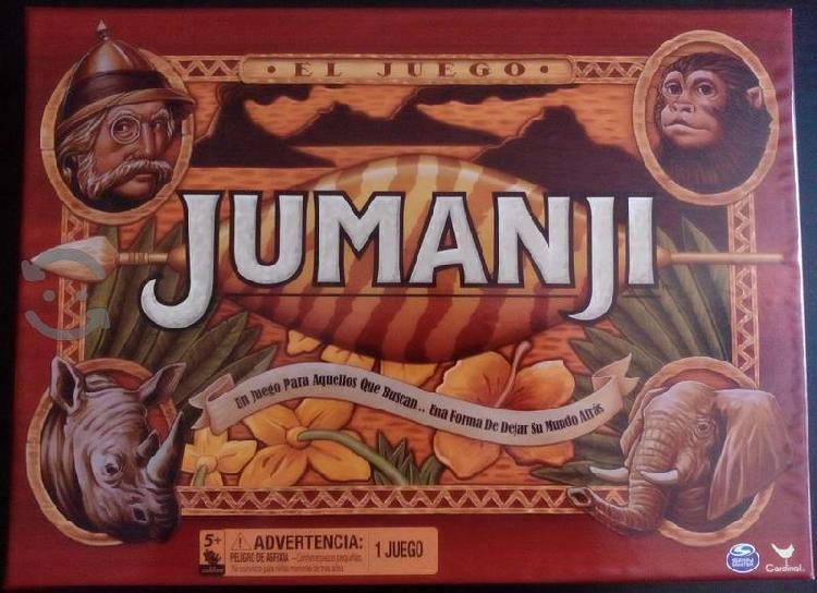 Juego De Mesa Jumanji Edicion En Español