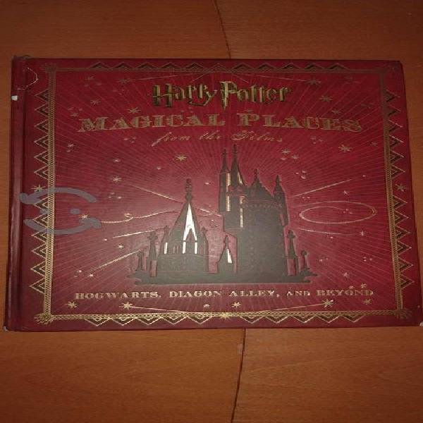 Libro De Colección Harry Potter: Magical Places