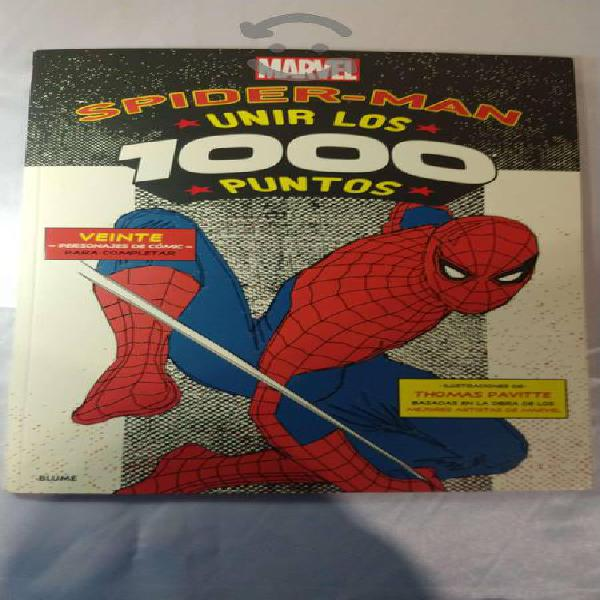 Libro Spider-man Unir Los 1000 Puntos - Usado