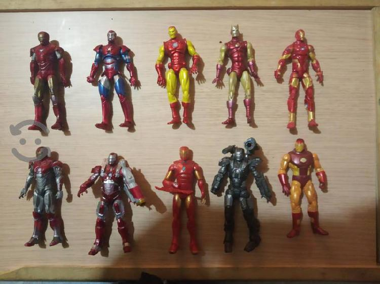 Lote de figuras iron man