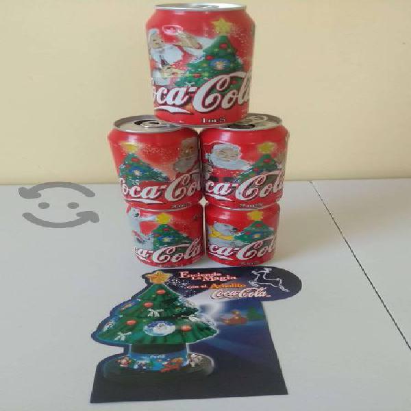 Lote latas arbol coca cola