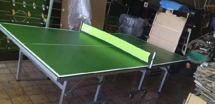 Mesa de ping pong nueva, tamaño profesional