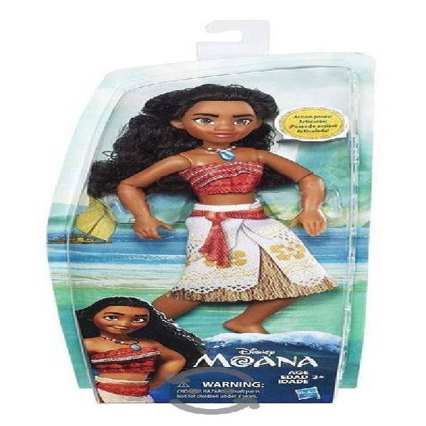 Muñeca Moana De Disney 25 Cm Articulada