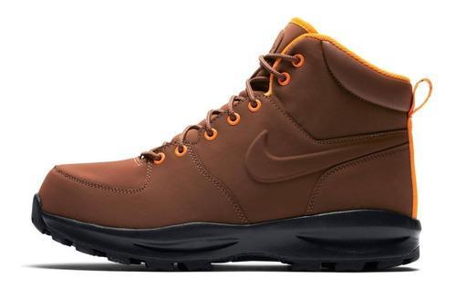 Nike Bota Manoa Hombre Senderismo Hiking Piel Genuina Sport