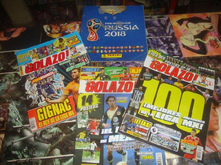Pack Revistas y Album Futbol