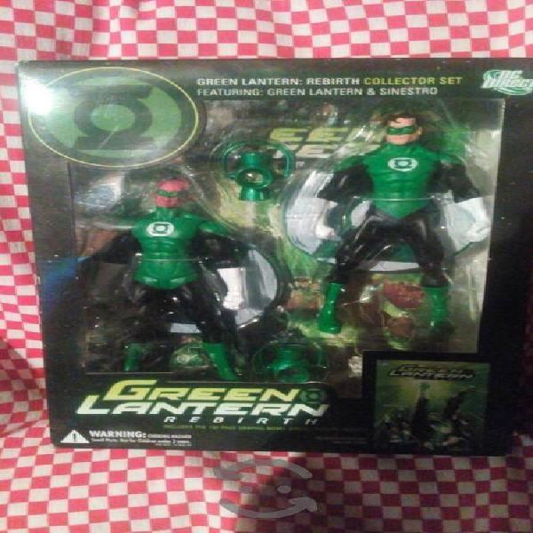 Paquete green lantern rebirth