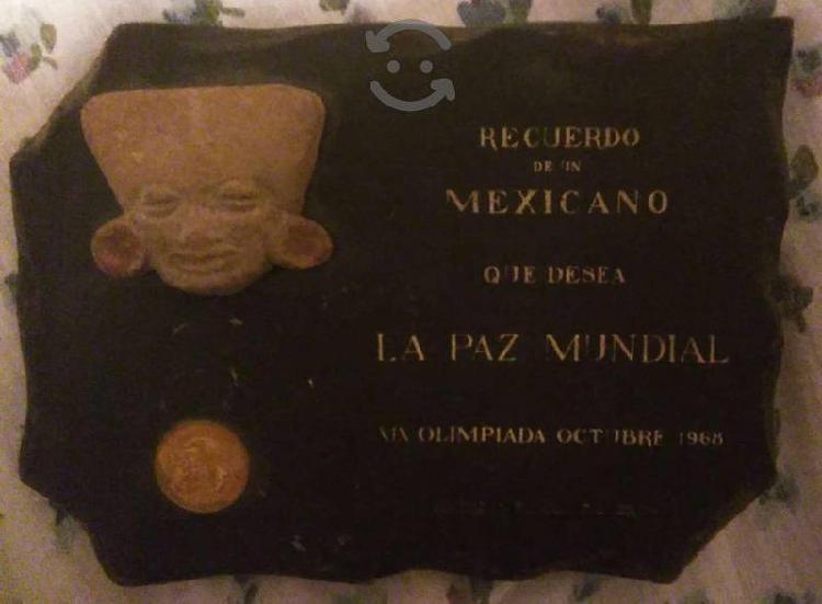 Recuerdo olimpiadas México 68