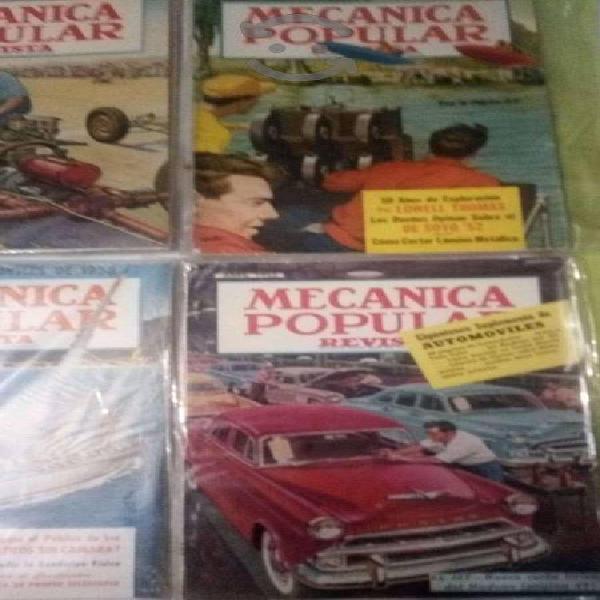 Revistas de mecánica popular