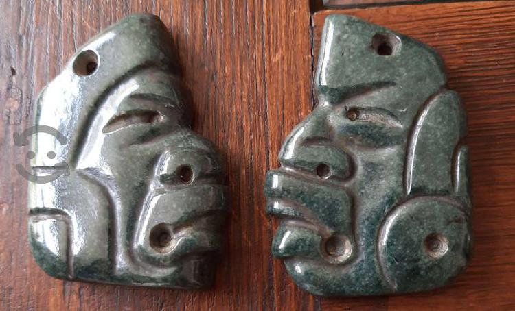 Réplicas de máscaras prehispánicas