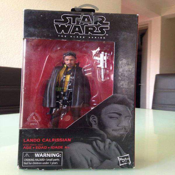 STAR WARS BLACK SERIES LANDO CALRISSIAN 6