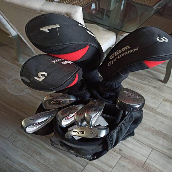 Set de palos de Golf Marca Wilson 11 palos