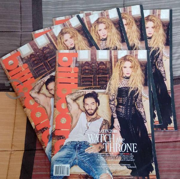 Shakira & Maluma Revista Billboard April 2018 USA