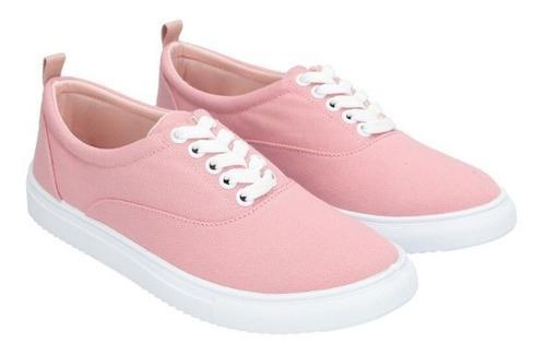 Sneakers Básicos Unicolor De Mujer C&a