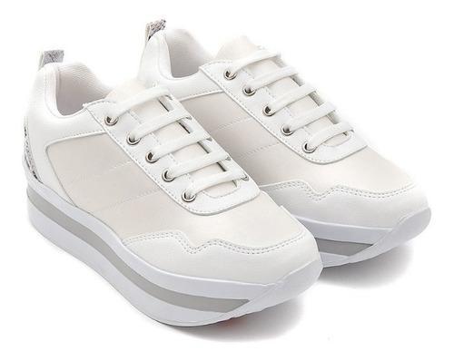 Sneakers Casuales De Mujer C&a Con Plataforma Bicolor