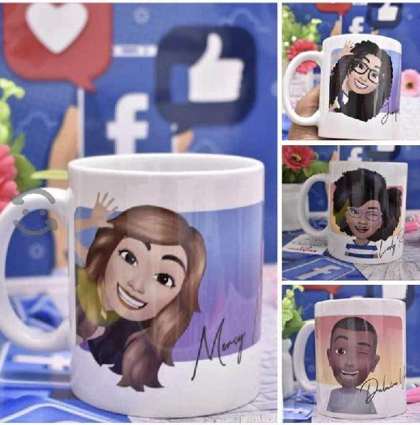 Taza personalizada con avatar