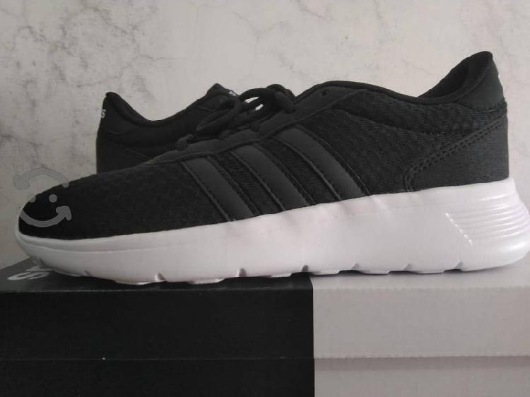 Tenis Adidas Lite 24 cm negro nuevo y original