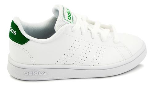 Tenis adidas Para Niña Advantage Blanco Ef0213 [add1344]