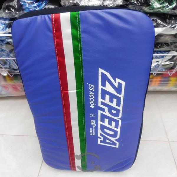 Thai pads Zepeda (par) Muay Thai kick boxing