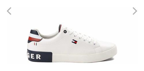 Tommy Hilfiger Rezz Para Caballero Zapato Casual Blanco