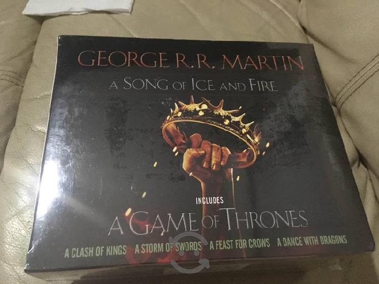 V/C Box Set de 5 libros de Game of Thrones Sellado