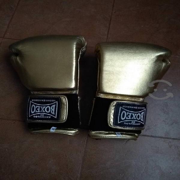 guantes de box de piel 16oz