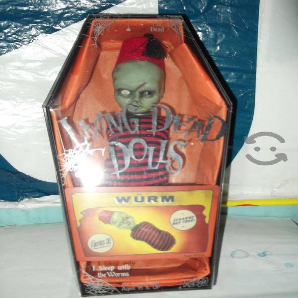 living dead doll wurm series 30