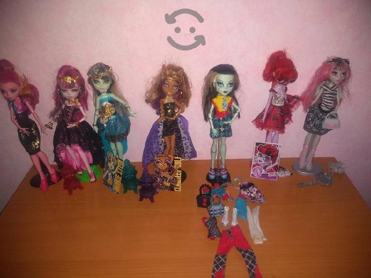 muñecas originales monster high varios modelos