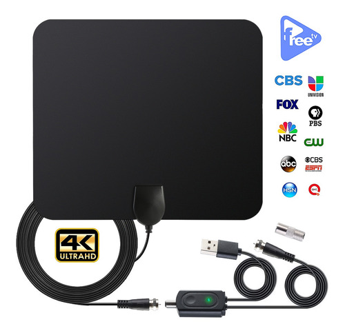 Antena De Alta Definición Digital Para Interiores, p,