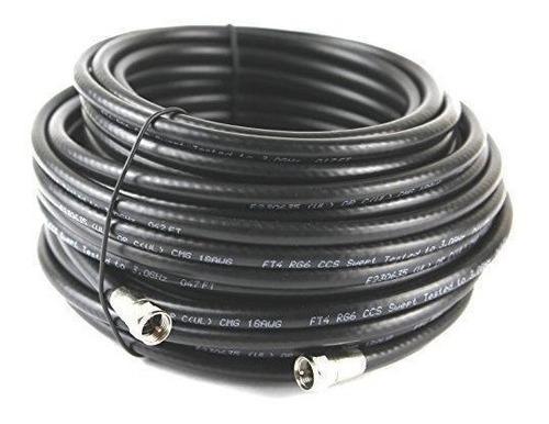Cable Extension Coaxial Para Antena Tv Rg6 15 Metros
