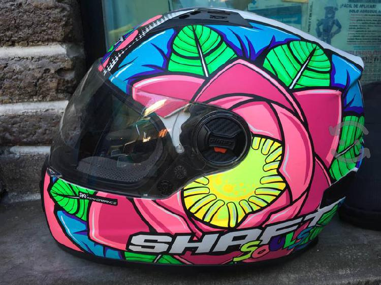 Casco para motocicleta Shaft Adulto