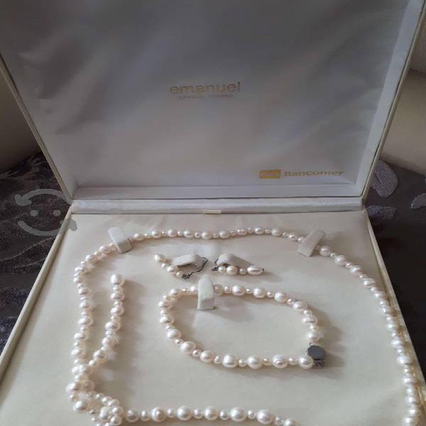 Conjunto de Collar, aretes y pulsera