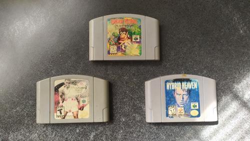 Diddy Kong Racing - Lote 3 Juegos Nintendo 64