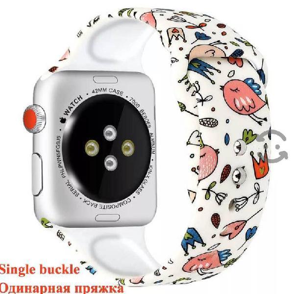 Extensibles Apple Watch 5 de silicon