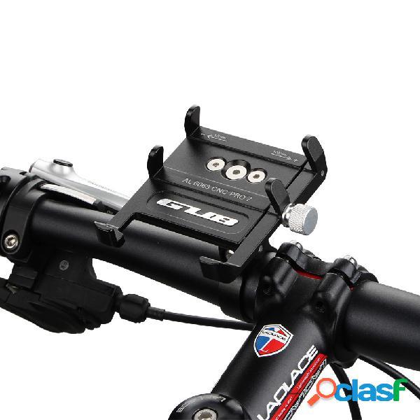 GUB Pro7 Soporte de teléfono de bicicleta de aleación de