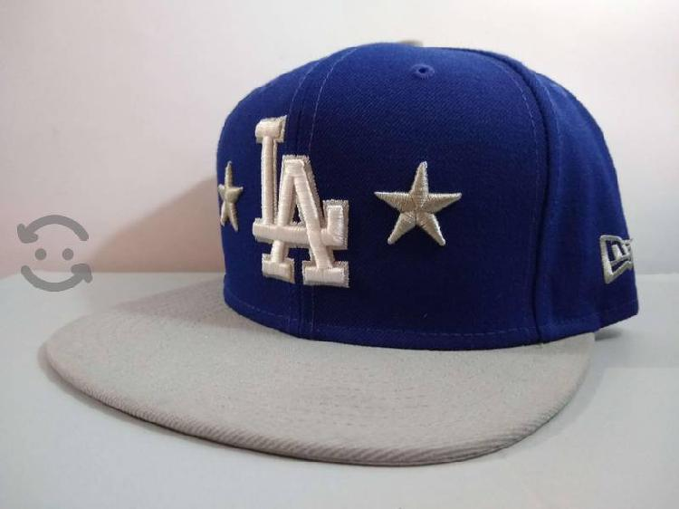 Gorra plana New era los angeles negra Nueva