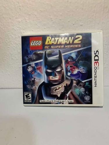 Juego Lego Batman 2 Dc Super Heroes Para Nintendo 3ds
