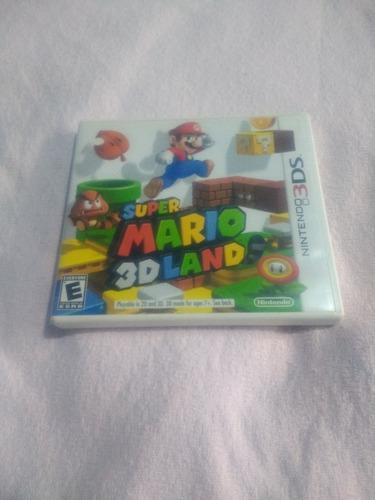 Juego N3ds Súper Mario 3d Land