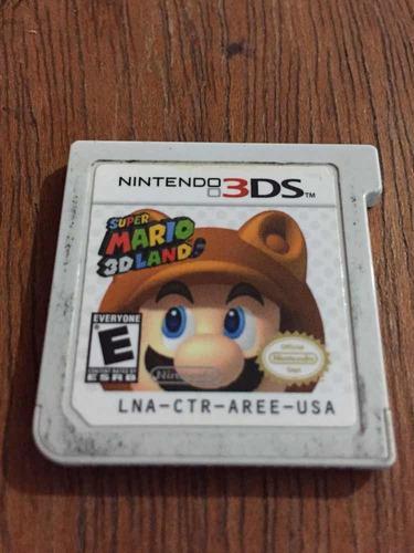 Juego Super Mario 3d Land