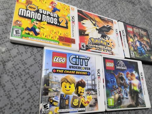 Juegos Nintendo 3ds || Lego, Pokémon, Super Mario