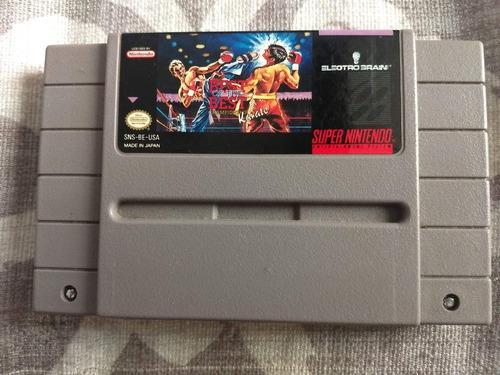 Juegos Super Nintendo 3x2 Best Of The Best Champ. Karate
