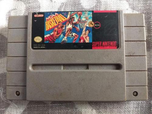 Juegos Super Nintendo 3x2 Ncaa Basketball