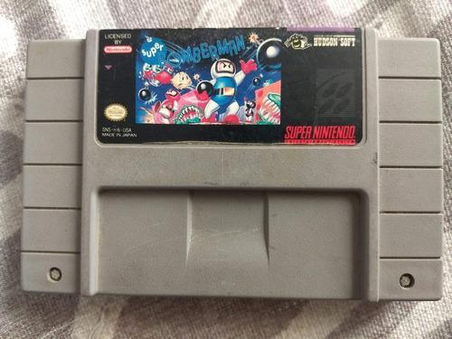 Juegos Super Nintendo 3x2 Super Bomberman