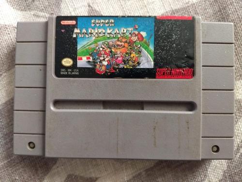 Juegos Super Nintendo 3x2 Super Mario Kart