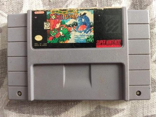 Juegos Super Nintendo 3x2 Super Mario World 2 Yoshi's Island