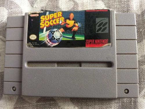 Juegos Super Nintendo 3x2 Super Soccer