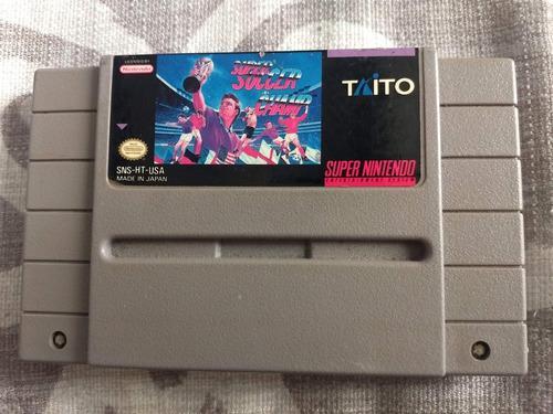 Juegos Super Nintendo 3x2 Super Soccer Champ